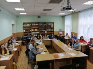 Встреча с начинающими педагогами-психологами в рамках проекта «Школа молодого педагога-психолога»