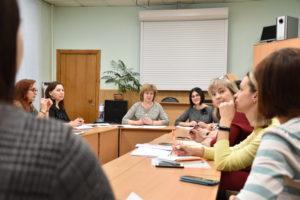 Заседание городского методического объединения воспитателей групп компенсирующей и комбинированной направленности ДОУ города Новосибирска