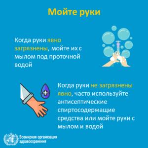 Рекомендации для населения в связи c распространением коронавирусной инфекции (COVID-19)