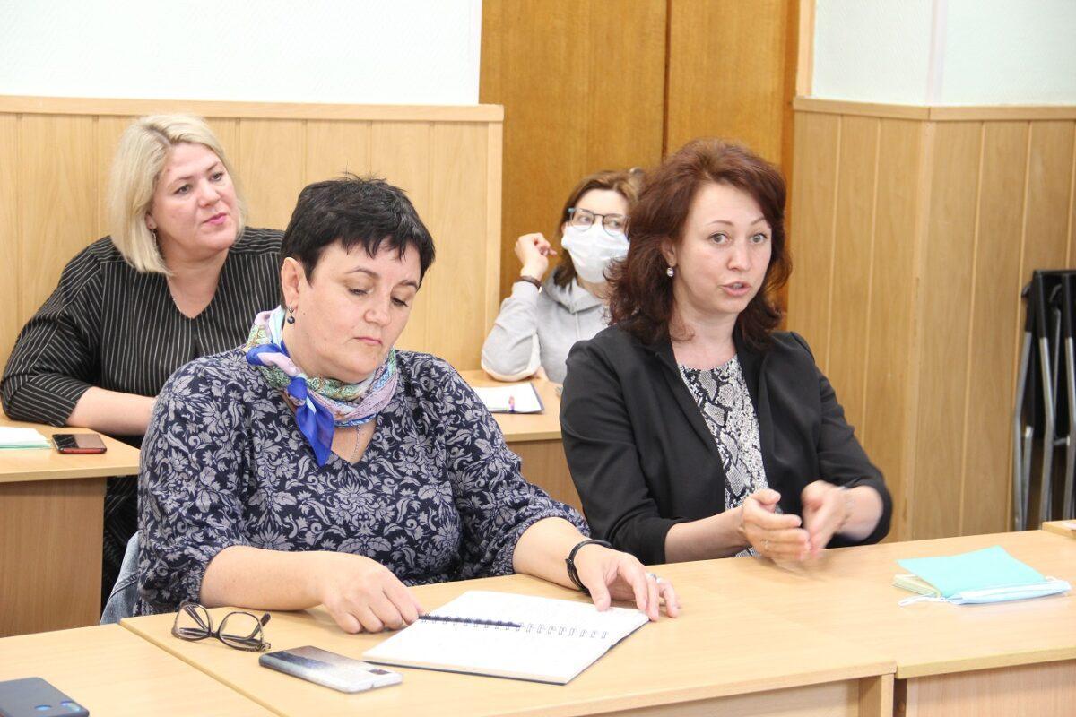 Совещание по разработке проекта по развитию жизнеспособности обучающихся