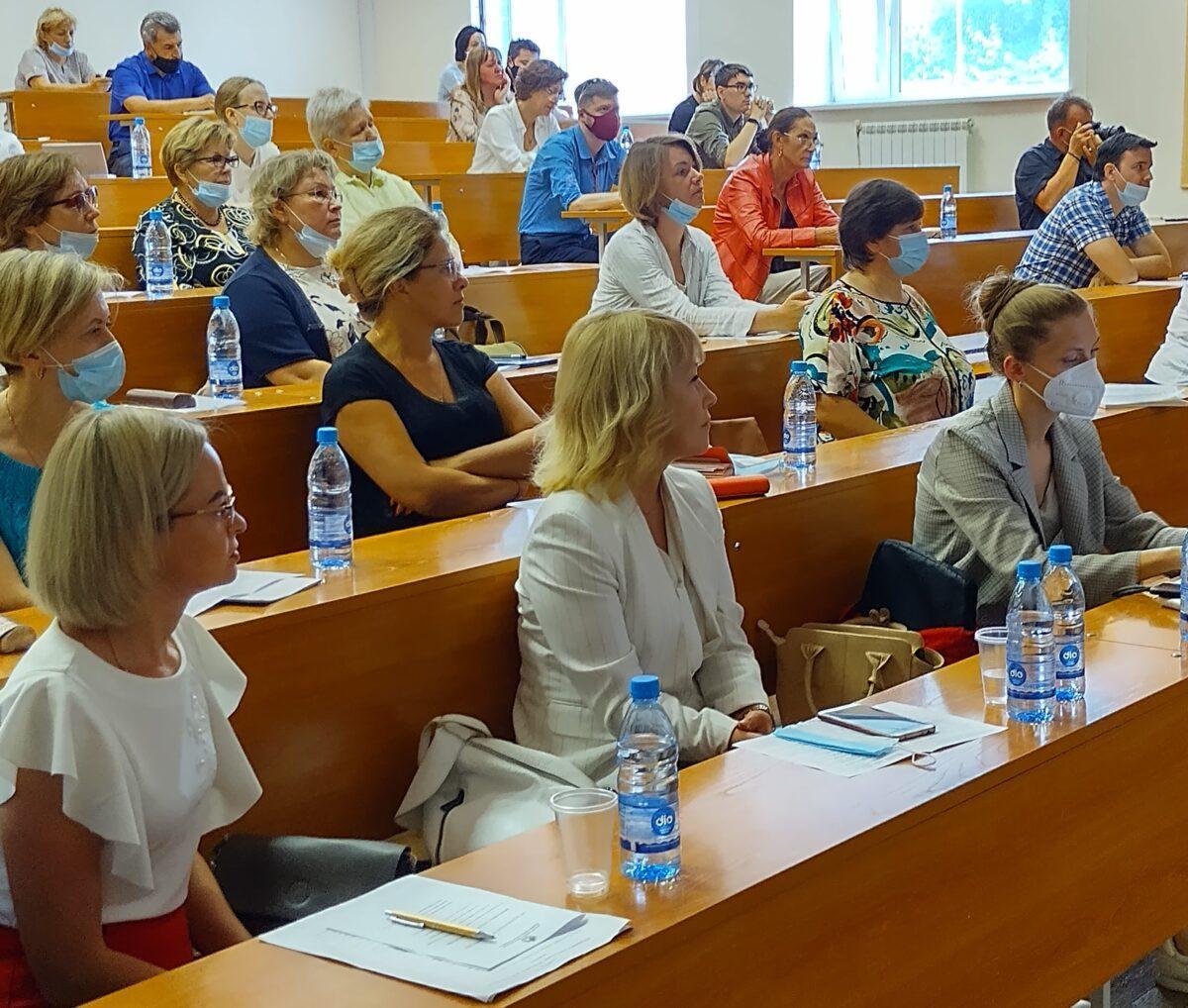 Киберполигон стал площадкой конференции Городского педагогического совета.